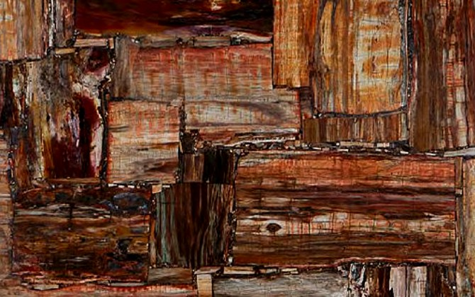 Retro Petrified Wood 2
