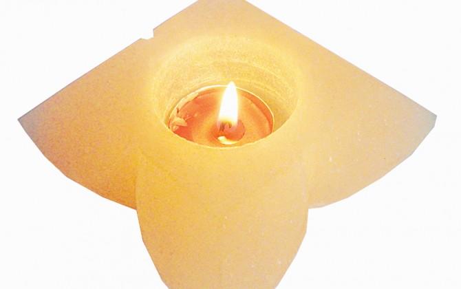 Flower-Candle-Holder