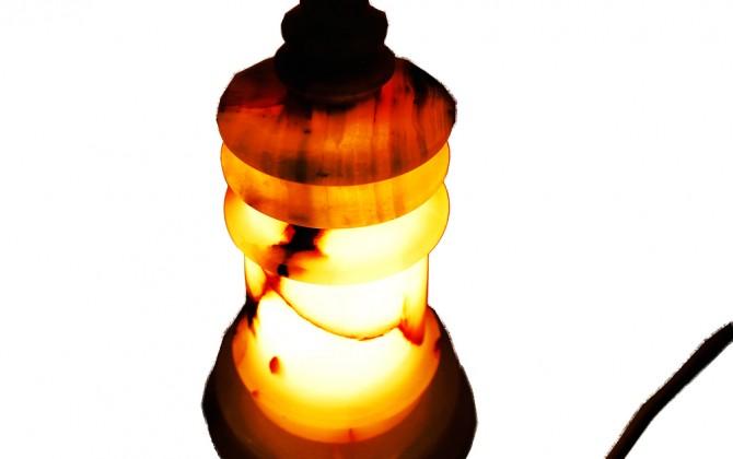 Three step lamp