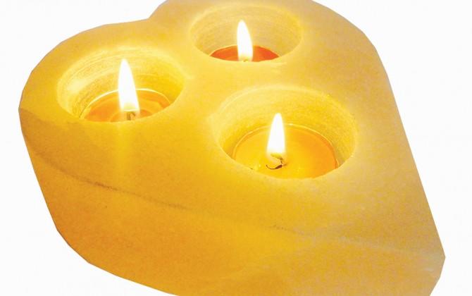 Tri-Light Candle Older
